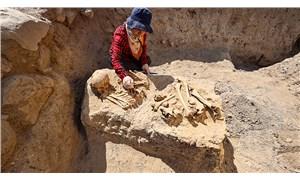 Çavuştepe Kalesi'nde Urartulardan kalma iki mezar bulundu