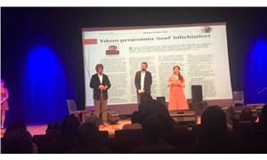BirGün editörü Gökay Başcan Musa Anter Gazetecilik Ödülü'nü aldı