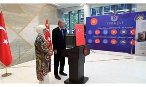 Erdoğan, New York'ta Türkevi'ni açtı: Geleneksel mimarimizin zarafetini yansıtıyoruz
