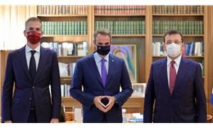 İmamoğlu, Yunanistan Başbakanı Miçotakis ile bir araya geldi