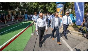 İzmir'de otomobilsiz gün ilgi gördü