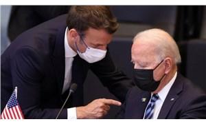 Macron ve Biden görüştü: Fransız elçi ABD'ye geri dönüyor