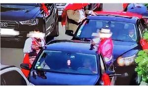Fransa'da düğün konvoyu oluşturan Türklere 10 bin avro ceza