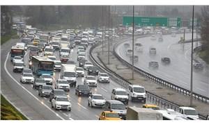 İstanbul'da yağış sonrası trafik yoğunluğu yüzde 70'lere ulaştı