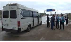 Kırıkkale'de koronavirüs hastası, yolcu minibüsünde yakalandı