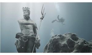 Likya uygarlığının yitik eserlerinin kopyaları Kaş'taki su altı parkında sergilenecek