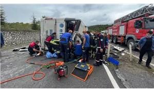 Zonguldak'ta yolcu otobüsü kaza yaptı: 3 kişi hayatını kaybetti