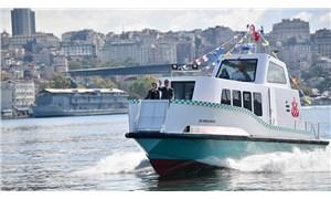 İBB'nin yeni nesil deniz taksileri suya indi
