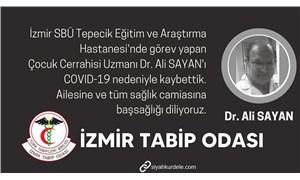 Doktor Ali Sayan, koronavirüs nedeniyle yaşamını yitirdi