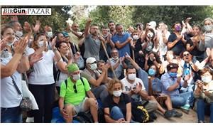 Halk, Validebağ Korusu'nu Üsküdar Belediyesi'ne karşı koruyor!