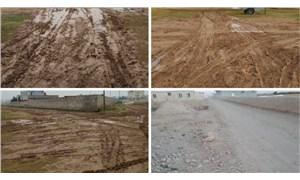 Muhtar, okul yolunu yapmayan AKP'li belediyeyi valiliğe şikâyet etti