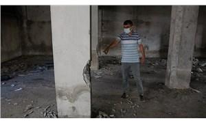 150 kişinin yaşadığı binada kolon ve duvarları yıkmaya çalışan 7 kişi gözaltına alındı