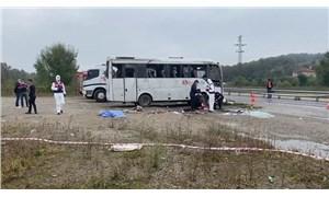 Bartın'da MHP'lileri taşıyan otobüs devrildi: 2 ölü, 14 yaralı