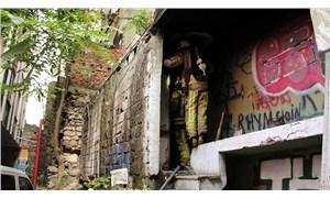 Beyoğlu'nda yangın: 1 ölü
