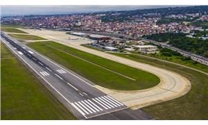 Trabzon Havalimanı, bir gün süreyle uçuşlara kapatıldı
