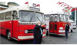 İETT'nin emektar otobüsleri Tosun ve Leyland sergileniyor