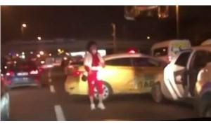 Bahçelievler'de trafik magandası kazaya neden oldu: Araçlar savrularak durabildi