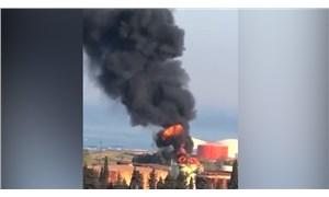 Lübnan'da petrol tesisinde yangın