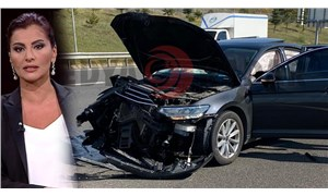 Hande Fırat kaza geçirdi: TIR'dan kopan tekerlek bulunduğu araca çarptı