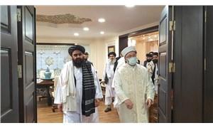 Diyanet Başkanı Erbaş, Talibancıları ağırladı