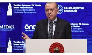 Erdoğan: İmam hatip mezunuyum ama hiçbir zaman imam hatipçi olmadım