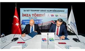 İzmir tramvayı için imza atıldı