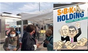 """Kadıköy'de """"SaBıKa Holding"""" kitapçığı dağıtan 5 CHP'li gözaltına alındı"""