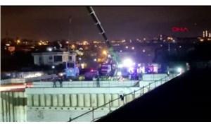 Arnavutköy'de metro inşaatında kaza: 3 yaralı