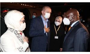 Erdoğan Angola'ya gitti
