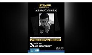 İstanbul Kavuştayı: Mahmut Orhan Live in Concert W/Orchestra Harbiye Açık Hava'ya konuk oluyor!
