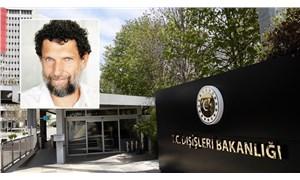 Osman Kavala için çağrı yapan 10 büyükelçi Dışişleri'ne geldi