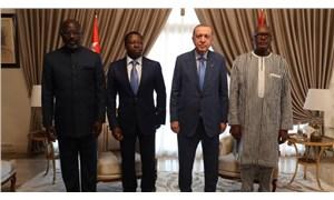 Türkiye, Togo, Burkina Faso ve Liberya liderleri ortak bildiri yayınladı