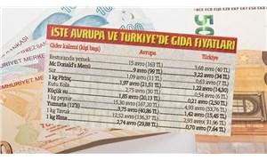 Yandaş gazete, Euro'yu TL'ye çevirerek Avrupa'daki hayat pahalılığından dem vurdu