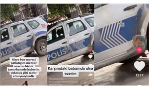 Polis aracı kurşunlamış gibi video çekti, gözaltına alındı