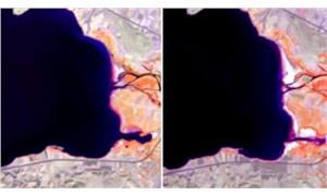 Van Gölü her geçen gün küçülüyor