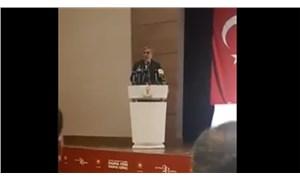 İl Başkanı 'üye yapın' dedi, AKP'li kadın 'olmuyorlar' diye seslendi
