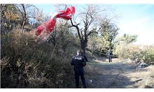 Kayseri'de ağaca düşen yamaç paraşütçüsü ağır yaralandı