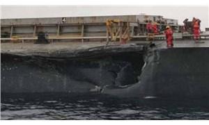 Şarköy açıklarında iki yük gemisi çarpıştı
