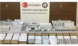 İstanbul'da 84 milyon liralık taklit ürün ele geçirildi