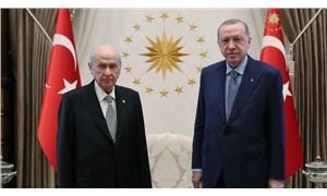 Kabine öncesinde gerçekleşen Erdoğan-Bahçeli görüşmesi 1 saat sürdü