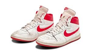 Michael Jordan'ın ayakkabıları 1.47 milyon dolara satıldı