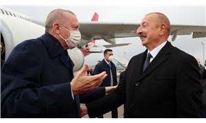 Erdoğan Azerbaycan'a gitti