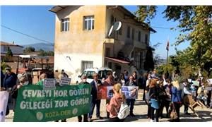 Tire'de köylülerin mermer ocağı tepkisi: Halkın katılım toplantısı iptal edildi