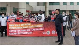 İstanbul Tabip Odası'ndan yıpranma payı ve Covid-19 yasası çağrısı