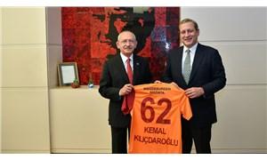 Kılıçdaroğlu, Galatasaray Başkanı Elmas'ı kabul etti