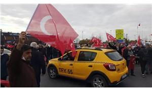 Taksicilerden Habertürk muhabirine saldırı