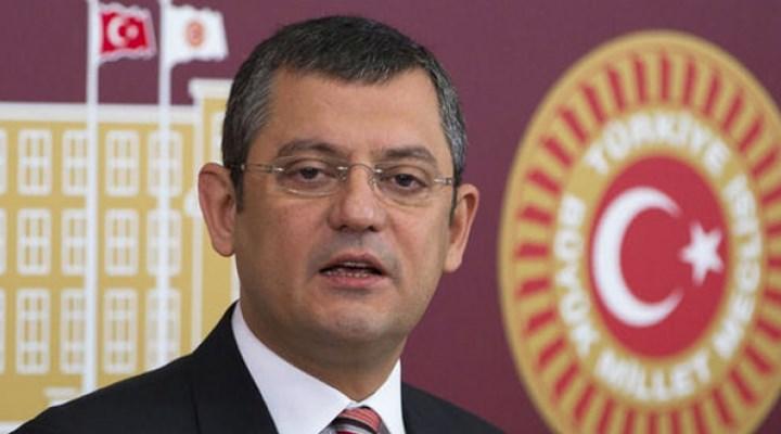 CHP'li Özel, Milli Saraylar'da yaşananları TBMM gündemine taşıdı