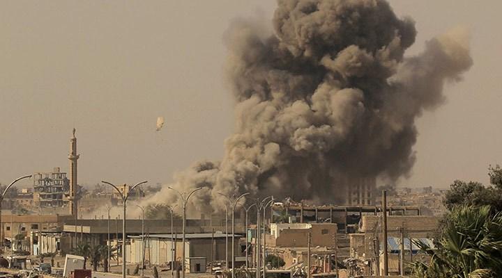 Koalisyon güçlerinden Deyr ez Zor'a hava saldırısı