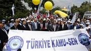 Kamu-Sen'den yeni zam teklifine protesto