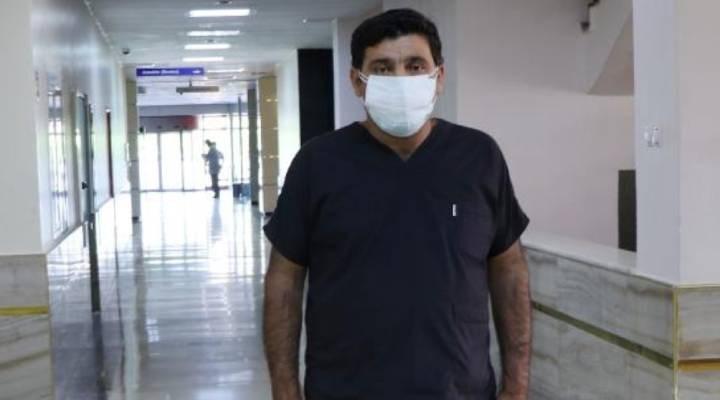 Covid-19'u yenen sağlık çalışanı, hasta yakını tarafından darp edildi